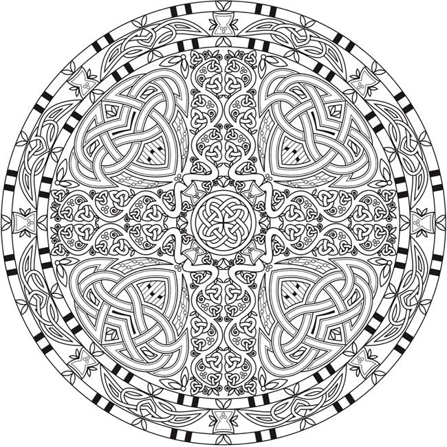 Still Coloring After All These Years Mandala Coloring Pages Celtic Mandala Celtic Coloring