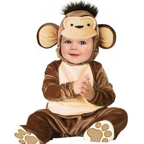 Fantasia Infantil Bebês Macaquinho Festa Halloween
