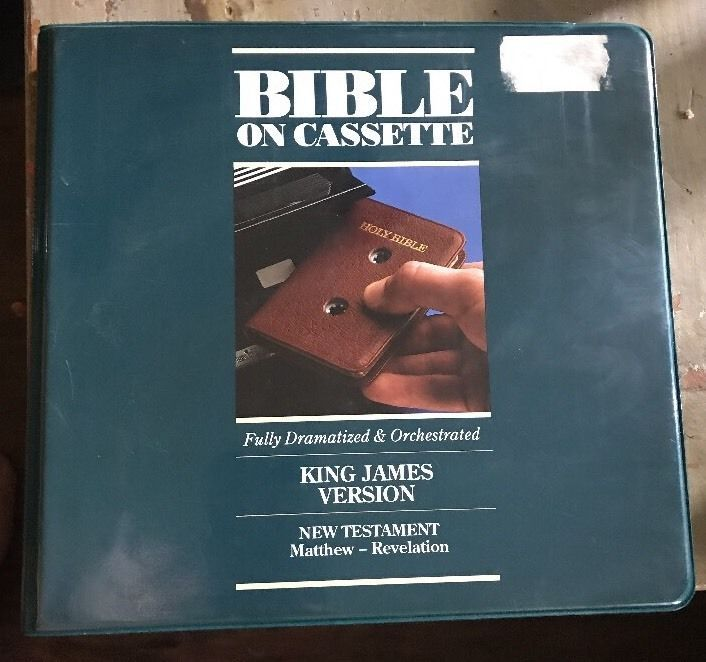 Bible Zondervan King James Version New Testament Bible on 12 Audio Cassettes  | eBay
