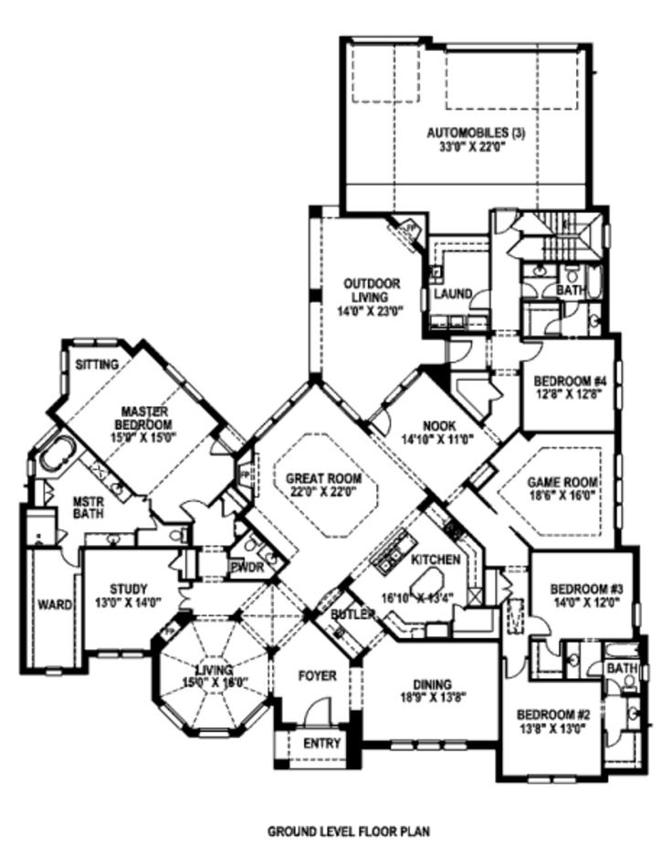 122 best House Plans images on Pinterest Architecture House