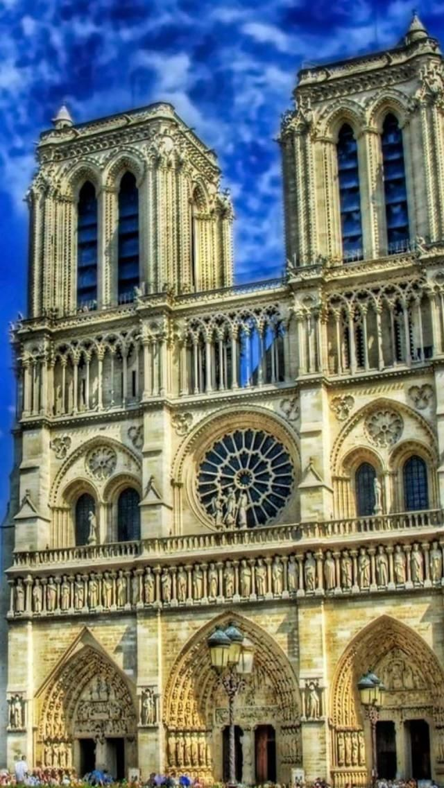 Notre Dame, Paris, France- still taking confessions, and prayers welcome. light a