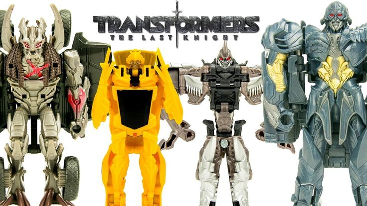 New Transformers The Last Knight One Step Turbo Changers Wave 2 with Megatron Bumblebee Decepticon Berserker and Grimlock! If you haven't seen our wave 1 video with Optimus Prime make sure to check it out below!  More Transformer Toys  TRANSFORMERS THE LAST KNIGHT ONE STEP TURBO CHANGERS Bumblebee Optimus Prime Toys Wave 1 - https://youtu.be/i34mbTz83tM  Transformers Robots in Disguise McDonalds Happy Meal Toys Bumblebee Optimus Prime - https://youtu.be/p67fBidosFs  Transformers Generations…
