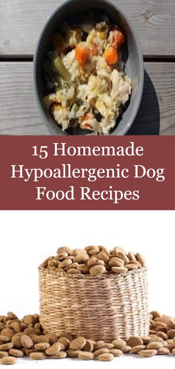 15 Homemade Hypoallergenic Dog Food Recipes Hypoallergenic Dog