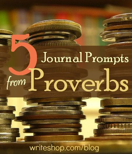 These journal prompts from Proverbs will encourage children to think and write about virtues such as wisdom, patience, and hard work.