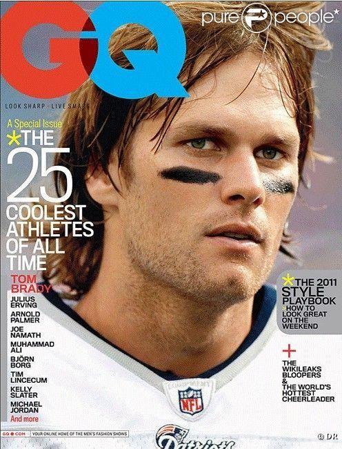 tom brady | Tom Brady en couverture du GQ US du mois de février 2011