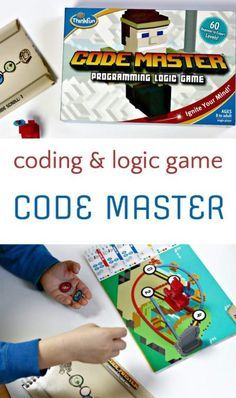 How to play Code Master Programming and Logic Game, a solitary game for kids.