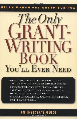 best books on grant writing The value of grant writing software seize available revenue sources grants can be a welcome source of revenue for organizations who meet the criteria.