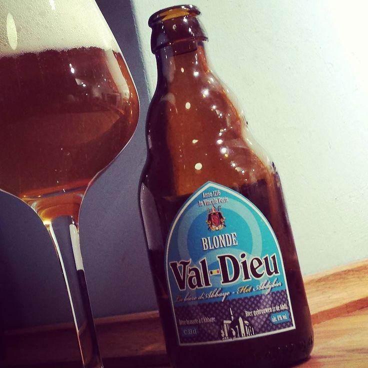 Val-Dieu Blonde #abteibier #craftbeer  #belgian #blondeale #abbey #abbaye #biere #abdij #abdijbier #valdieu #belgie #belgien #belgium #beer #beerlove #instabeer #beerporn #kiel