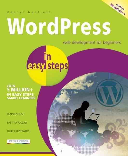WordPress in Easy Steps will guide the reader through setting up WordPress, working with the Dashboard, creating site content, adding media, and adjusting appearance and themes. The book also covers a