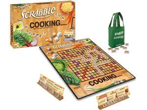Scrabble Cooking Edition by USAopoly at Cooking.com #holidaycooking