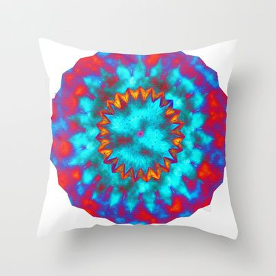 Spaced out to the Drumbeat  Throw Pillow by Dagmar Magdalena Ceki Photography - $20.00