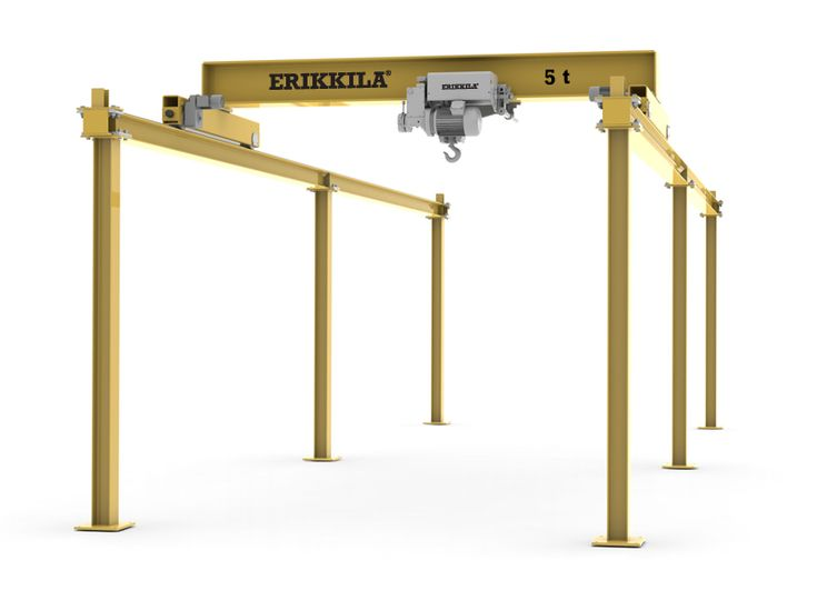 SPARTAN Bridge Cranes | ERIKKILA - Passion In Cranes