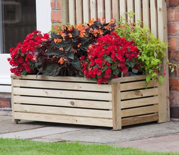 12 Outstanding Diy Planter Box Plans Designs And Ideas: Best 25+ Rectangular Planters Ideas On Pinterest