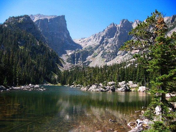 Rocky Mountain National Park | Bear Dream Lake , Rocky Mountain National Park , Colorado, with ...