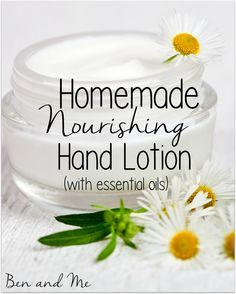 It's healthy enough you could almost eat it and it will leave your skin feeling incredibly soft. You can choose any essential oils you love, both to scent the lotion and to add even more health-giving properties.
