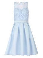 Womens *Quiz Blue 3D Flower Prom Dress- Blue