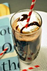 Triple Chocolate Banana Milkshakes #recipe