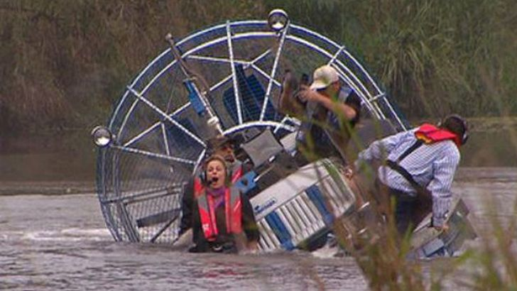 This Would Be A Horrible Air Boat Ride In A Alligator