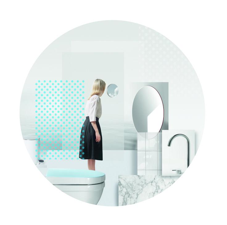 White Basic World by Pressalit, designed by Scholten & Baijings