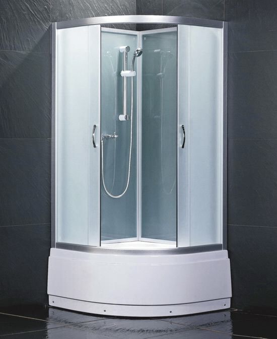 shower cubicles self contained. Plain Shower Cubicles Self Contained Plus X White Quadrant Cubicle
