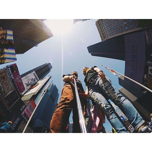A little of #TimeSquare #NYC #newyork_instagram #newyork #gopro #goproselfie
