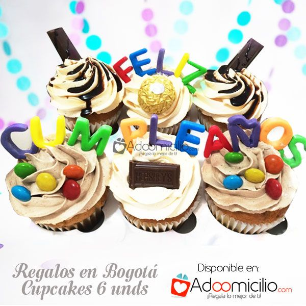 encuentra lindos cupcakes a domicilio en bogot originales y para hombres y mujeres ms de