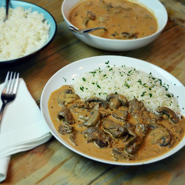 brazilian stroganoff estrogonofe de carne is comfort