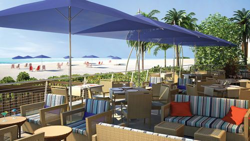Harbor Beach Marriott Resort Spa -Secluded on 16 waterfront acres, guests enjoy an idyllic private beach setting near the area's top attractions . The Fort Lauderdale resort's 20,000-sq-ft spa boasts indigenous treatments and views of sparkling Atlantic waters .