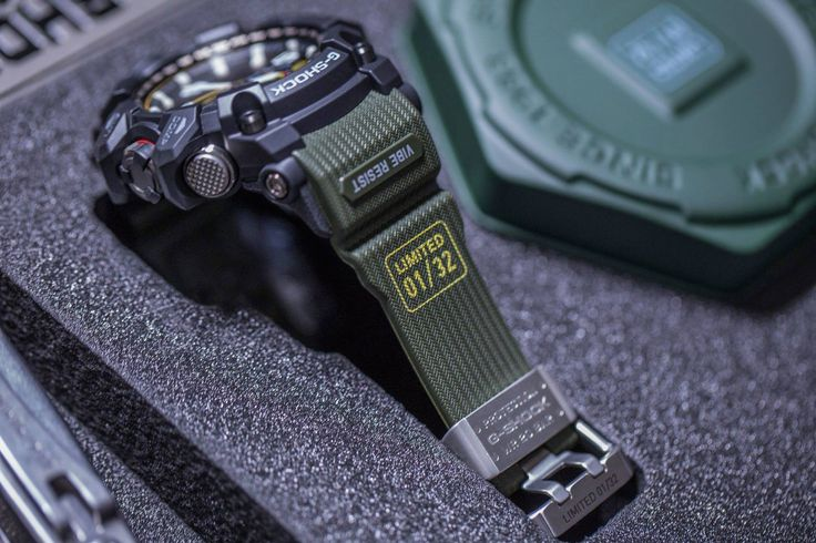 [G-Shock Limited] GWG-1000, мультитул и водонепроницаемая упаковка