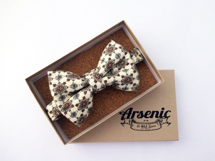 Mens cream bow tie, art deco bow tie, cream bow tie, retro bow tie, vintage bow tie, wedding bow tie, womens bow tie, gifts for men by ArsenicandOldLaceUK on Etsy https://www.etsy.com/listing/469642992/mens-cream-bow-tie-art-deco-bow-tie