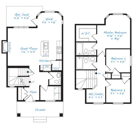 37 best floor plans images on pinterest for What is wic in a floor plan
