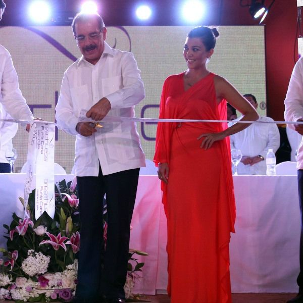 Presidente Dominicano y una Kardashian