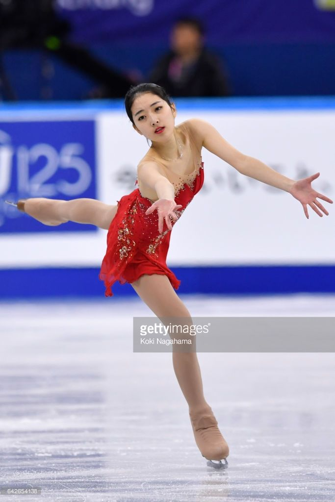 News Photo : Zijun Li of China competes in the Ladies Free...
