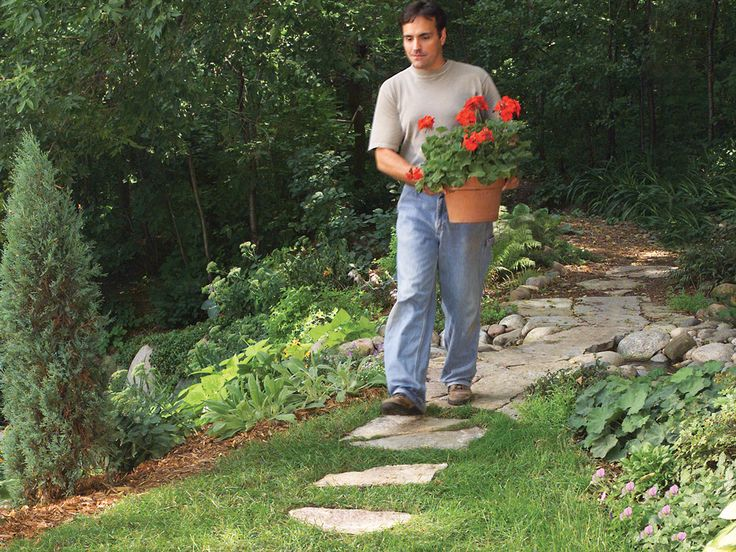17 best ideas about stone garden paths on pinterest for Best way to lay out a garden