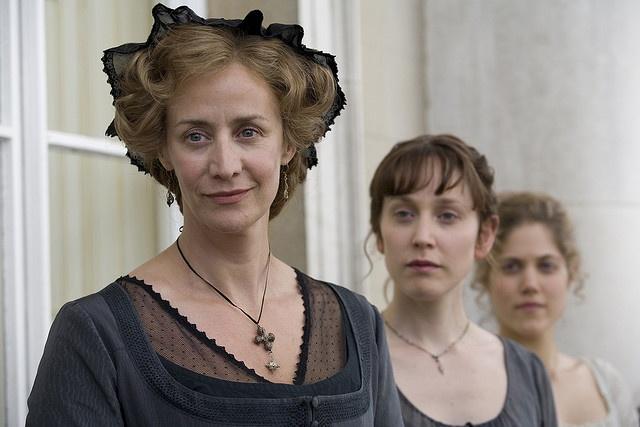 Janet McTeer (Mrs. Dashwood), Hattie Morahan (Elinor Dashwood) & Charity Wakefield (Marianne Dashwood) - Sense & Sensibility (TV mini-series, 2008)