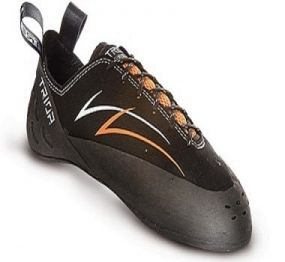 TRIOP ORCA A technical shoe of mid level designed for hard climbing, that everybody can afford. Orca offers unique balance between stability and sensitivity.