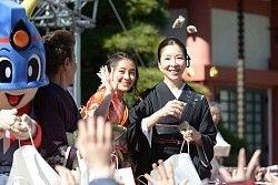 真矢ミキ TBSで司会しているから…近くの日枝神社で豆まき― スポニチ Sponichi Annex 芸能 #真矢ミキ #豆まき