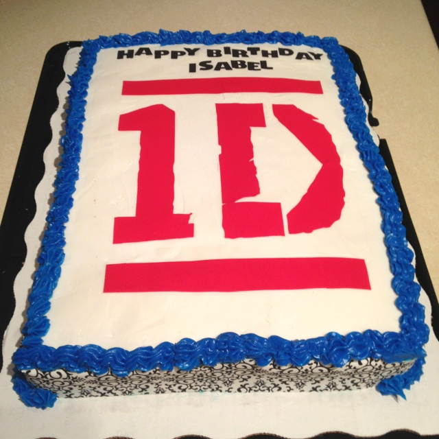 One direction birthday cake | Favorite Recipes | Pinterest ...