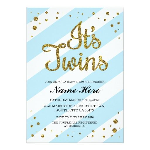 319 best twins baby shower invitations images on pinterest | twin, Baby shower invitations