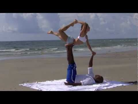 Acro Yoga- Advanced Demo with Dashama & Josiah  http://www.pranashama.com http://www.dashama.tv