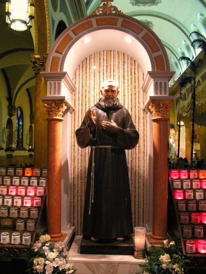 Prayer for the Intercession of St. Pio of Pietrelcina