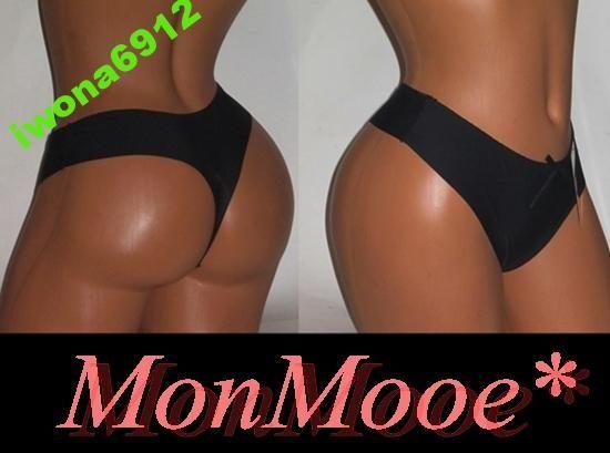 Delikatne Stringi Laserowe MonMooe*XL-42