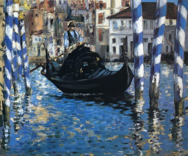 The grand canal of Venice (Blue Venice) - Edouard Manet - Édouard Manet - Wikipedia, the free encyclopedia