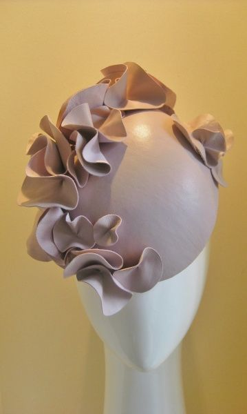 Pink fondant by JILL HUMPHRIES  HatAcademy  millinery  14bed6044c2