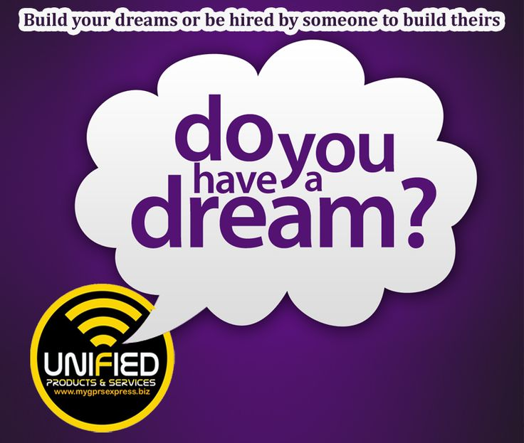 Build your dreams or be hired by someone to build theirs...