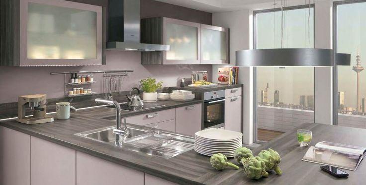 Best White Cabinets Glass Doors Gray Wood Countertops My 400 x 300