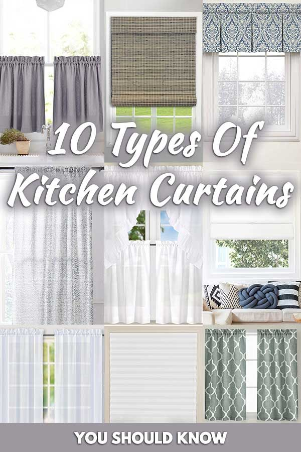 10 Types Of Kitchen Curtains You Should Know Home Decor Bliss Kitchen Window Curtains Kitchen Curtains Kitchen Curtain Designs
