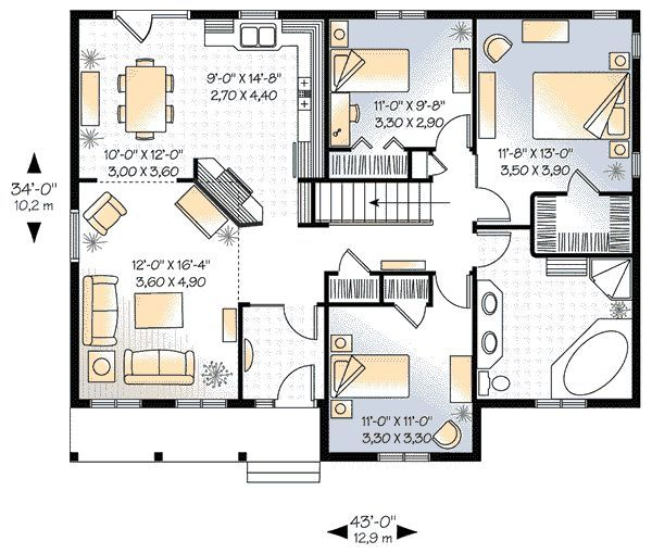 41 best Floor Plans images on Pinterest House floor plans Dream