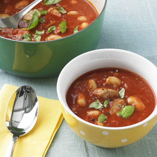 Bohnen-Tomaten-Eintopf