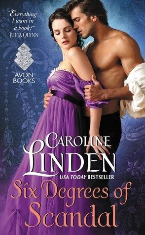 30. Six Degrees of Scandal by Caroline Linden - 4 stars. Review: http://eaterofbooks.blogspot.com/2016/02/review-six-degrees-of-scandal-by.html